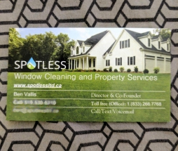 Business Branding for Spotless Ltd.